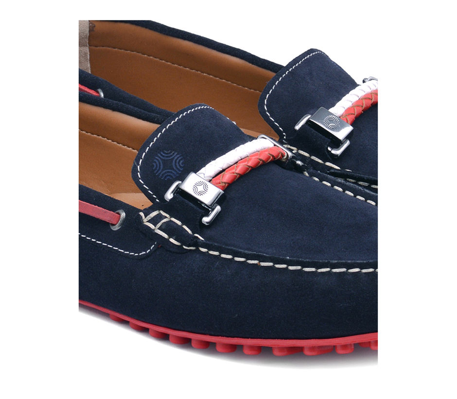 Navy Casual Slip-ons