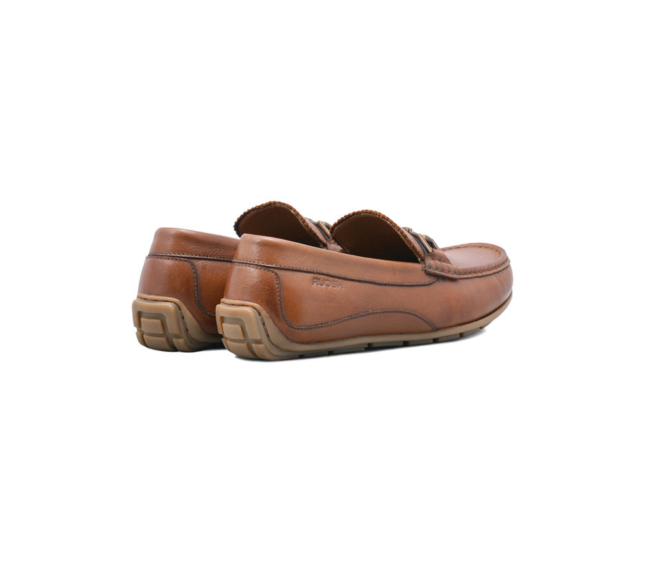 Tan Casual Slip-ons