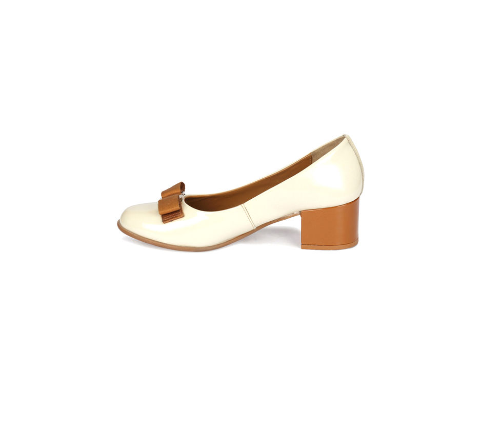 Women Block Heel - Beige
