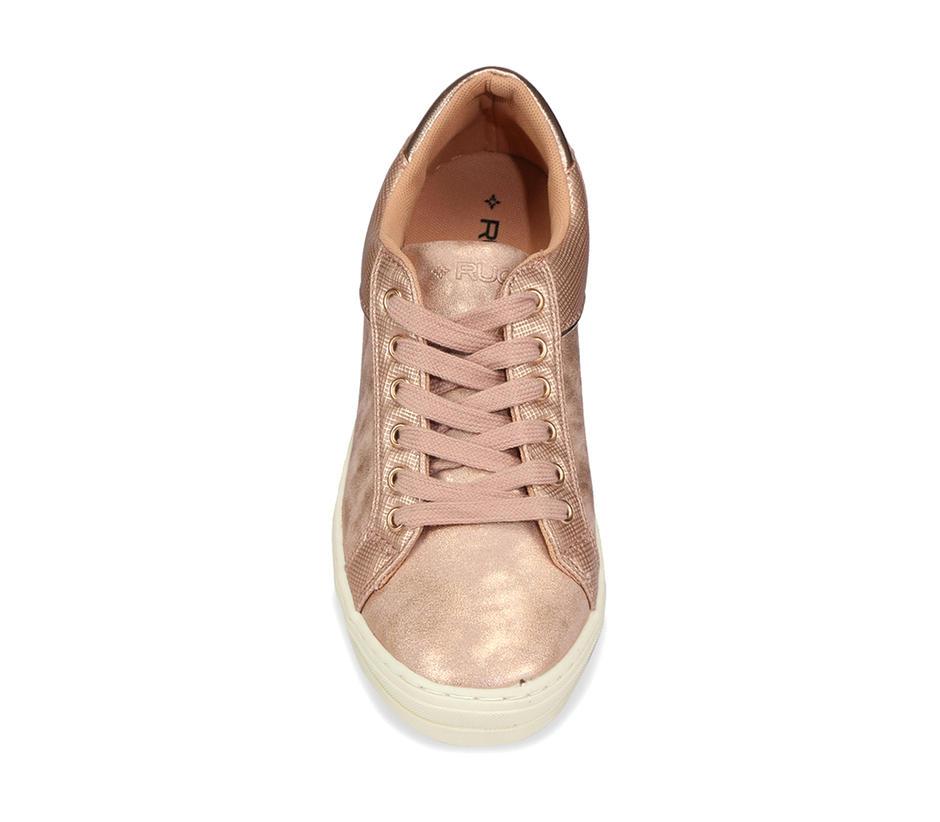 Women Sneakers - Gold