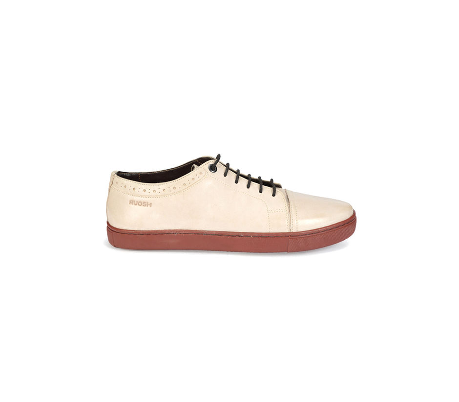 Sneakers Lace Up - White