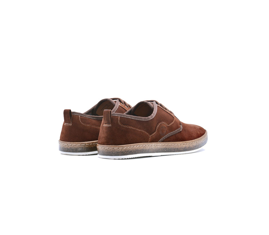 Sneakers Lace Up - Brown