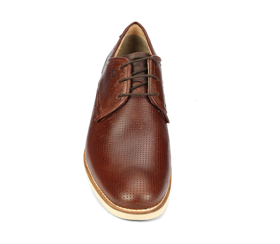 Business Casual Lace Up - Tan