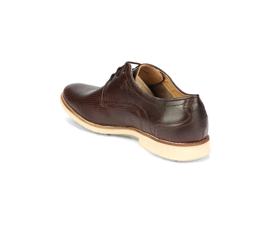 Business Casual Lace Up - Brown