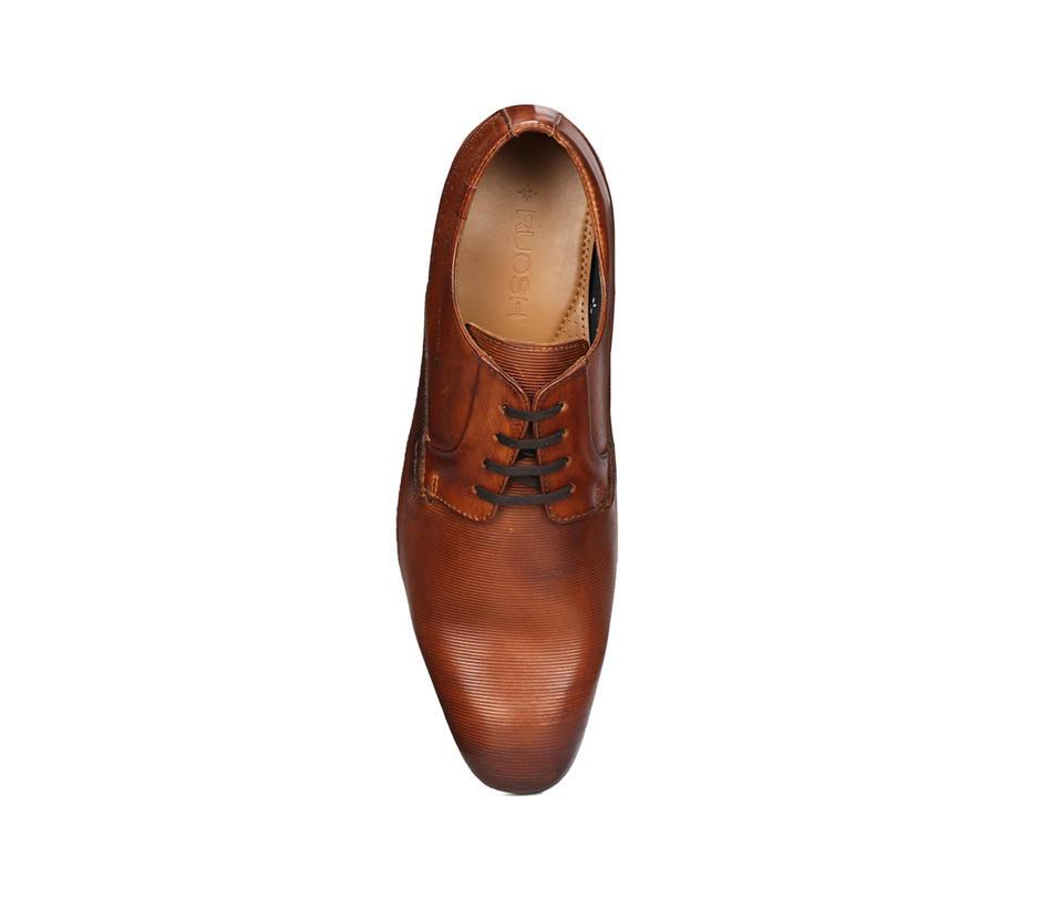 Tan Derby Shoes