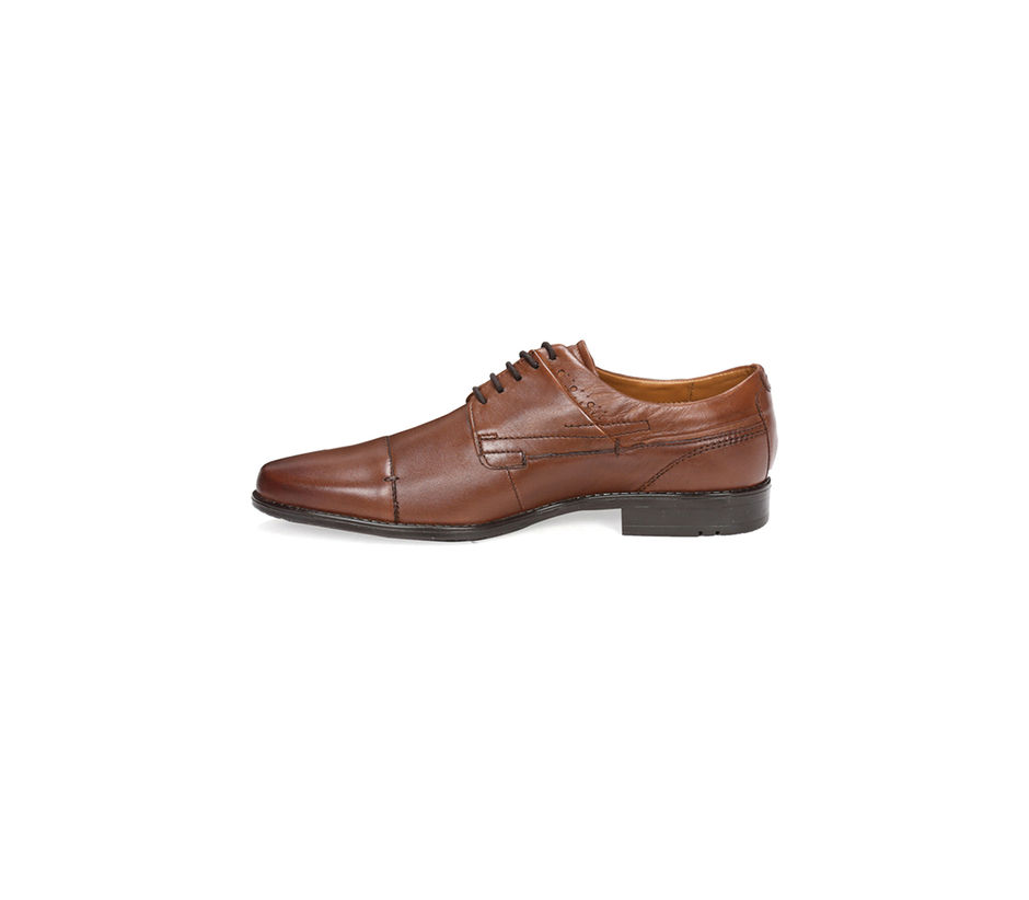 Tan Derby Shoes