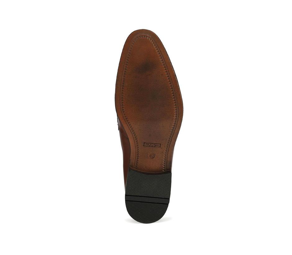 Brown Formal Slip-ons