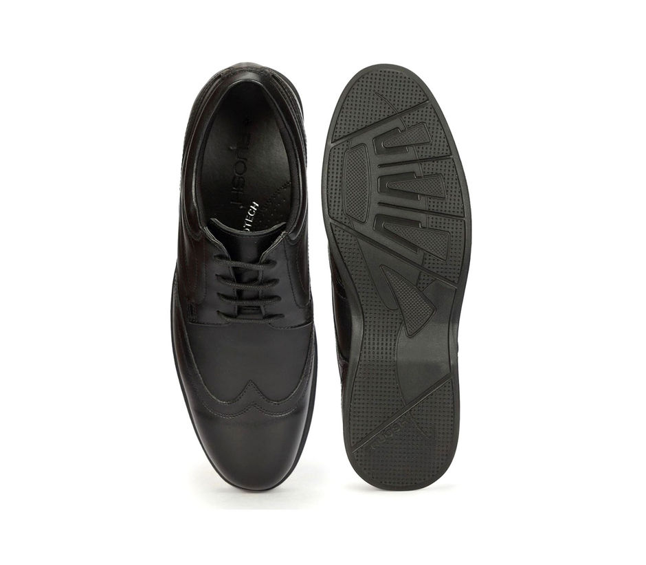 Work Lace Up - Black
