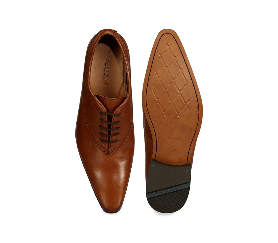 Occasion Lace Up - Tan