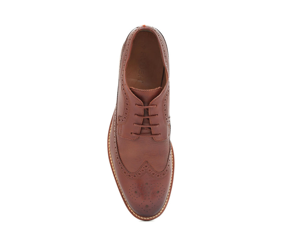 Goodyear Welt Brogues – Brown