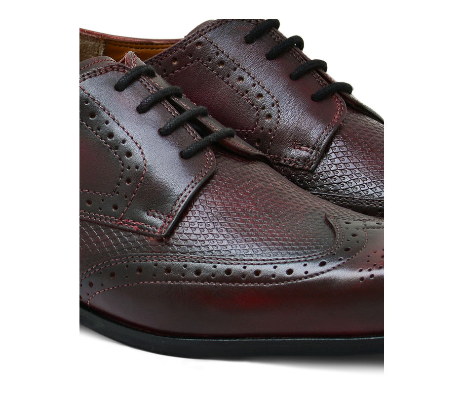 Occasion Lace-up – Maroon
