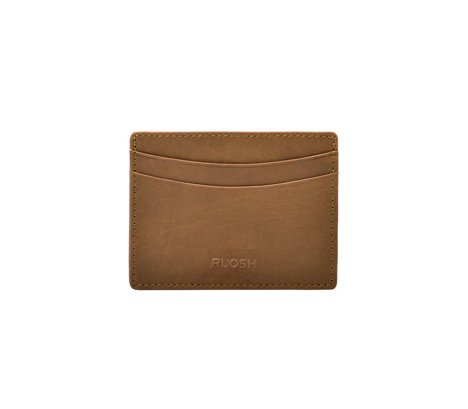 Light Brown Card Case