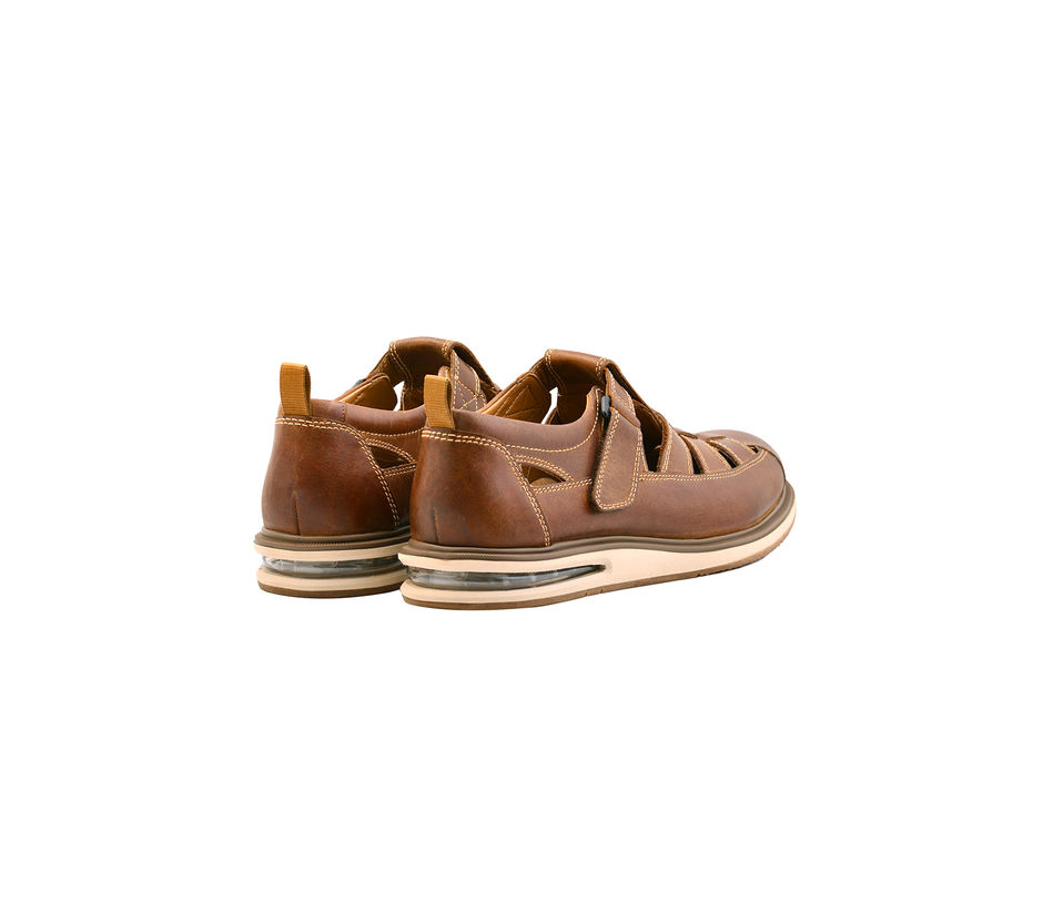 AirCube Fisherman Sandal- Tan
