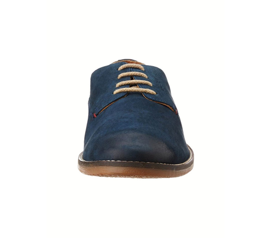 Blue Casual Lace-ups