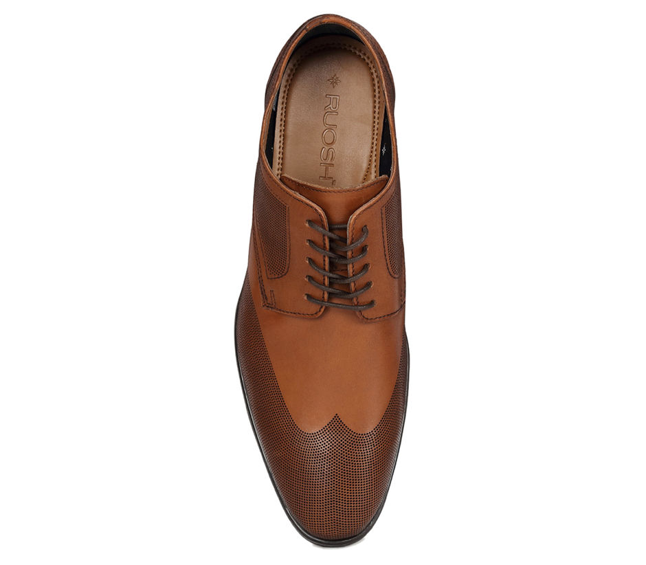 Semi Formal Lace-ups - Tan