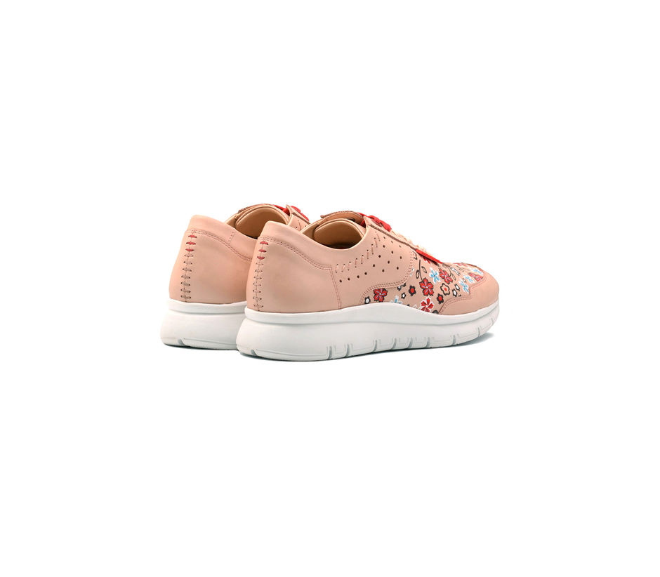 Peach Sports Shoes