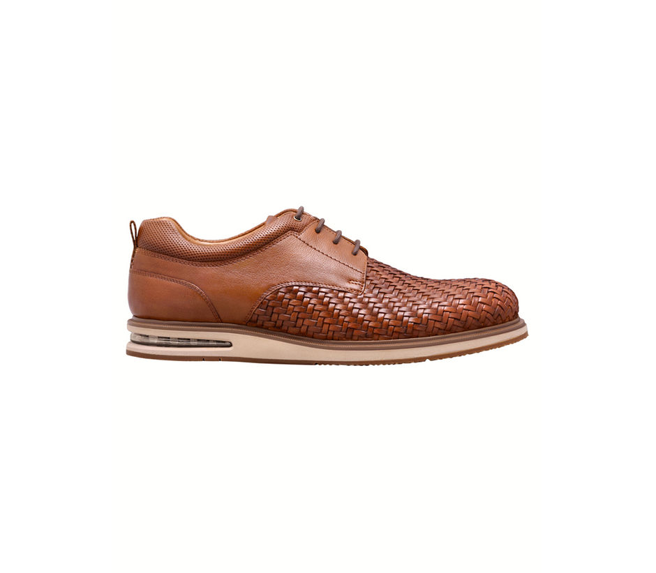 Aircube Weave Lace Up - Tan