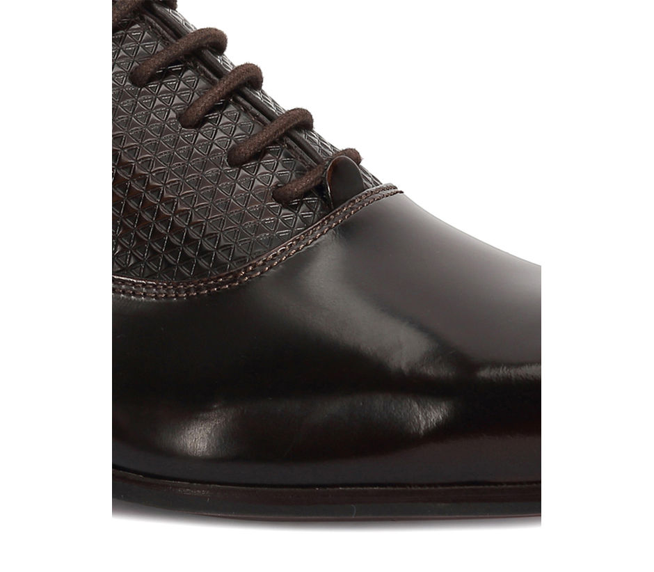 Occasion Lace Up - Brown