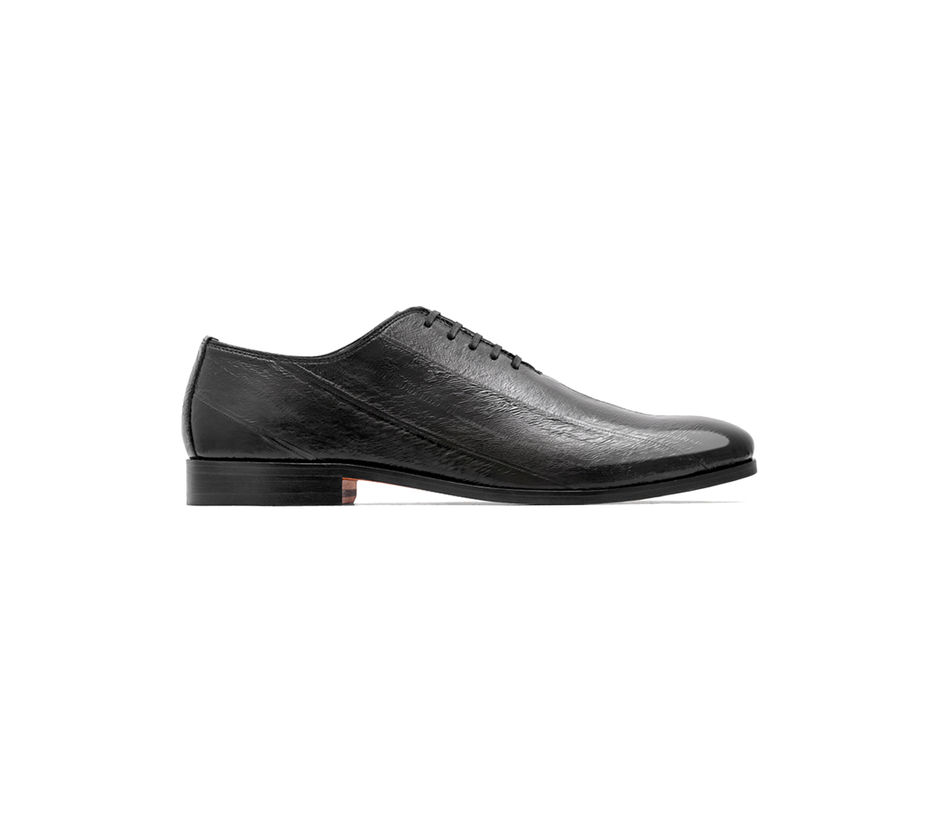 Rare Leather Occasion Lace Up – Black
