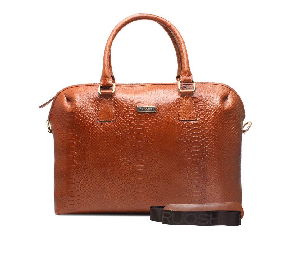 Tan Laptop Bag