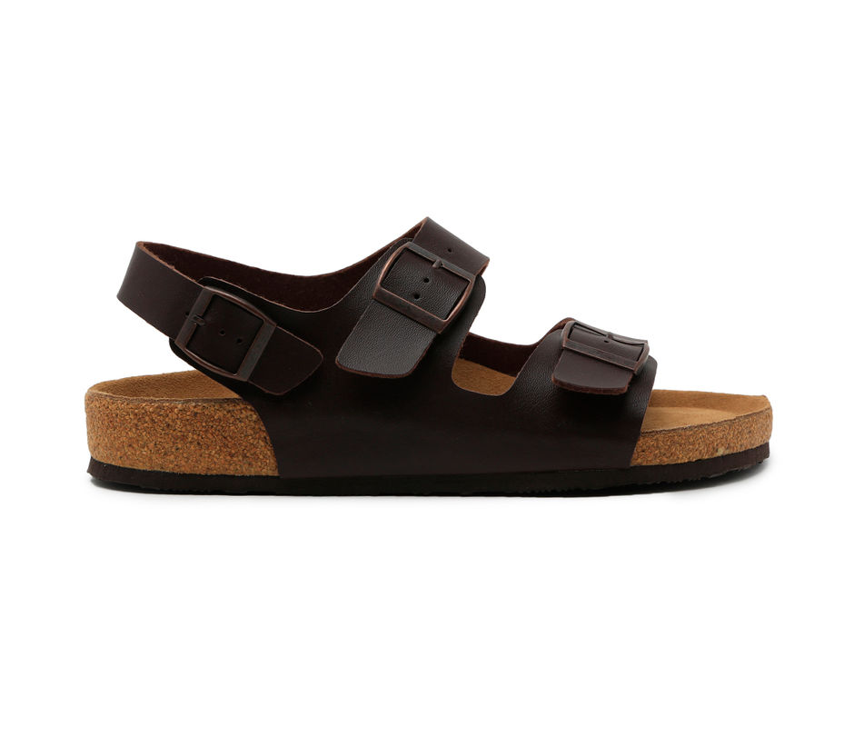 a0a5ec65f Buy Casual Brown Synthetic Sandal For Men | Ruosh