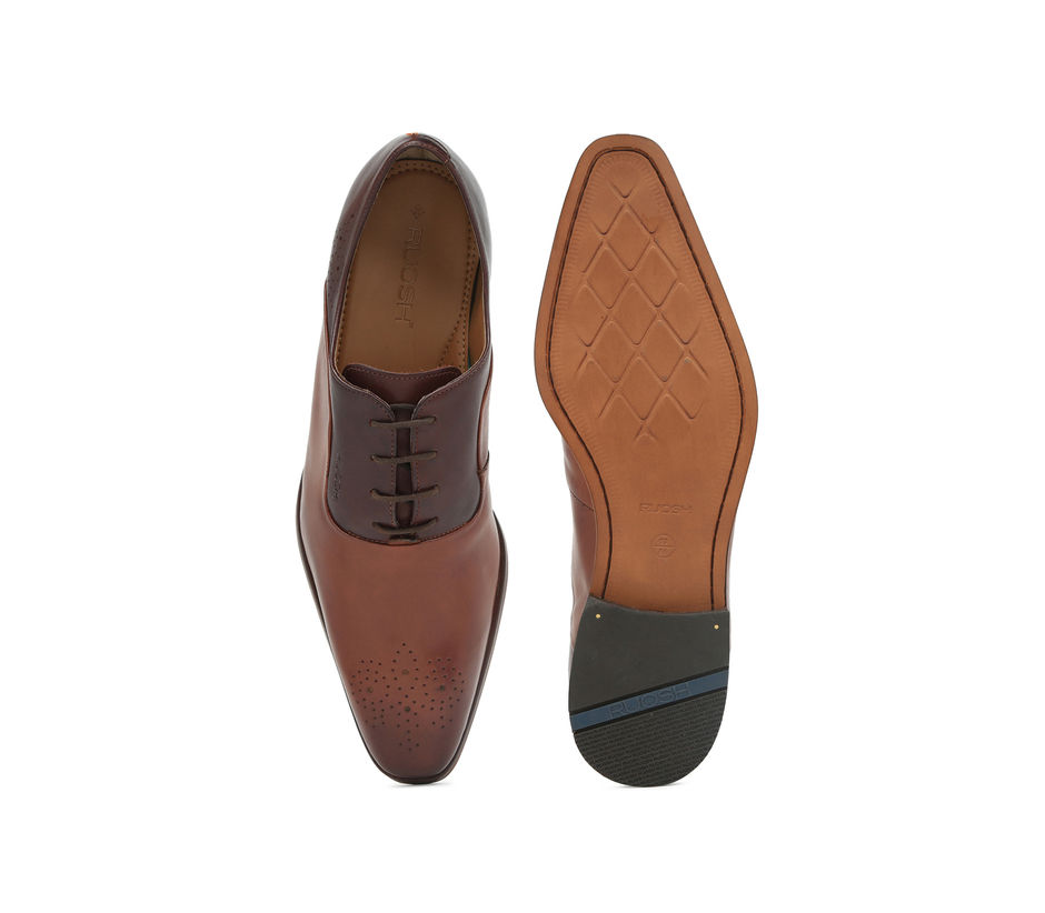 Semi-formal Lace-ups - Tan