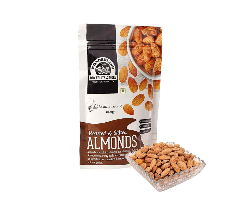 Blue Diamond, Roasted Salted Almonds, 454g/1lb.,{Imported ...